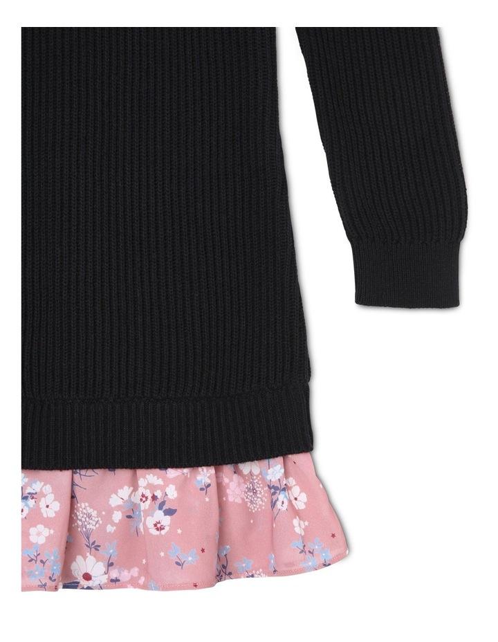 Cold Shoulder Knitted Dress image 3