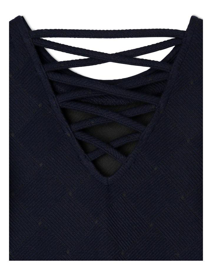 Rib Knit Dress image 3