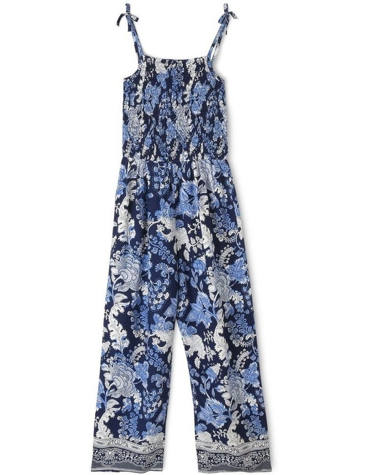 Woven Strappy Jumpsuit image 1