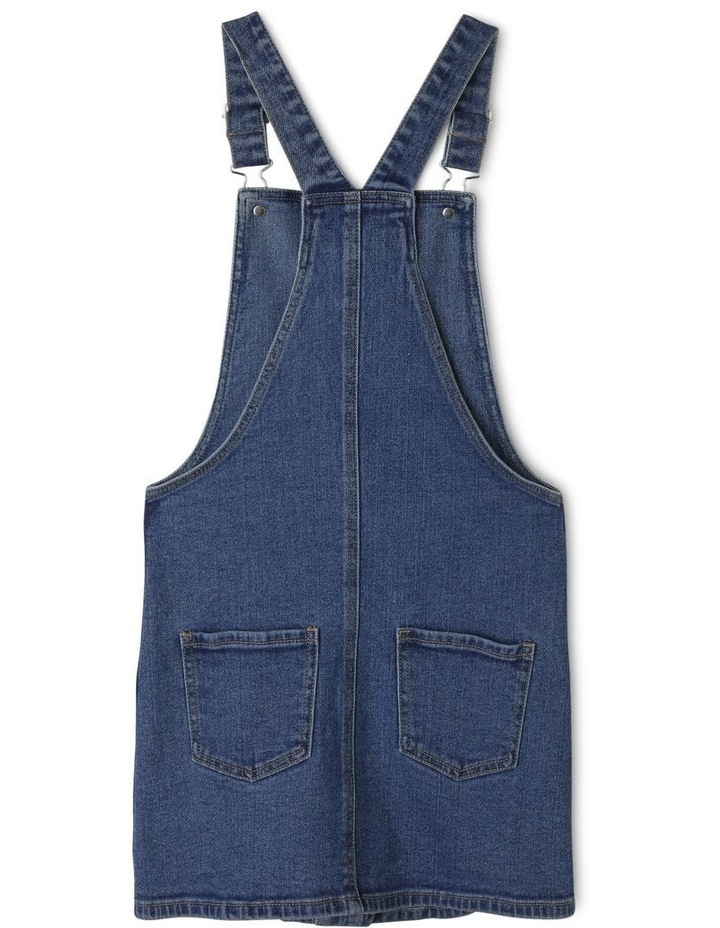 Denim Dress with Button Front image 2