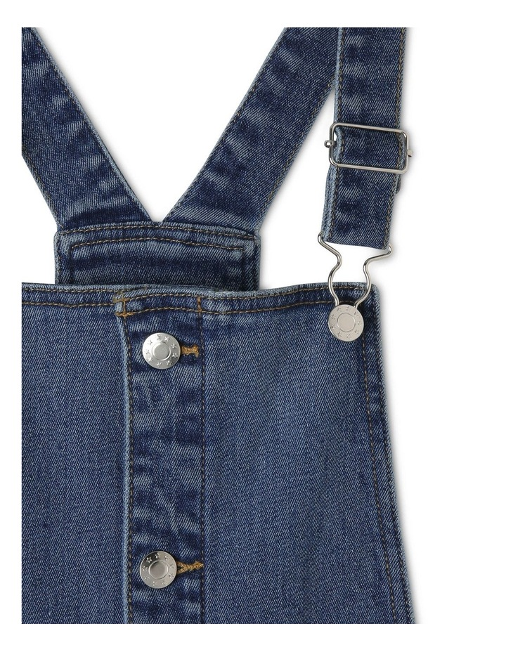 Denim Dress with Button Front image 3