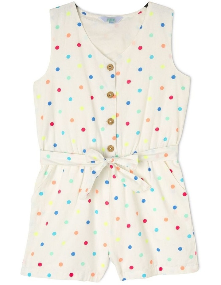 Playsuit With Tie Belt image 1