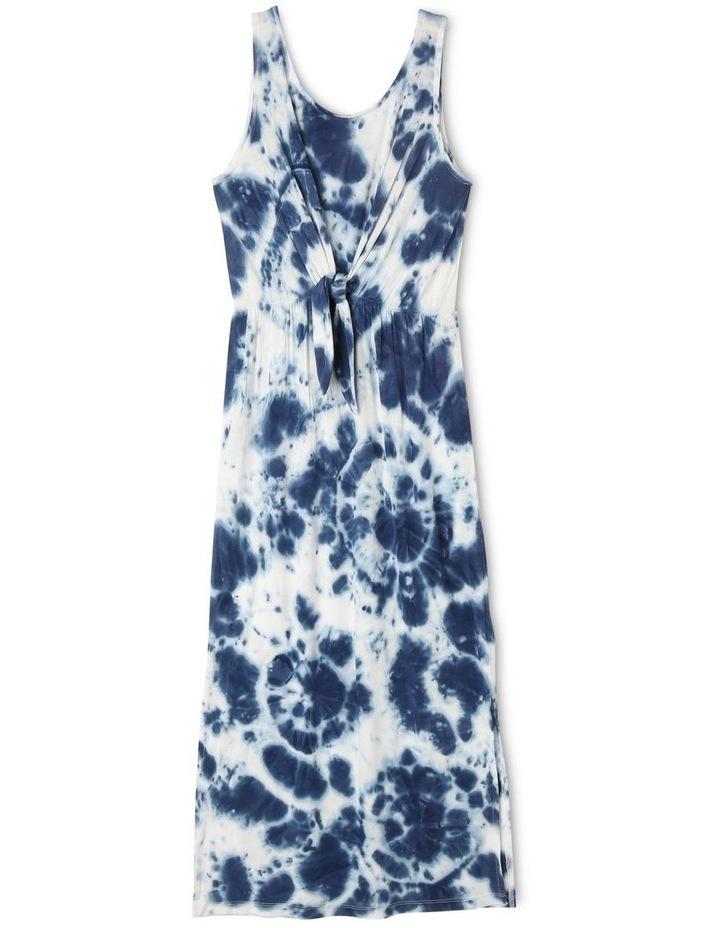 Tie Front Tie Dye Maxi Dress image 1