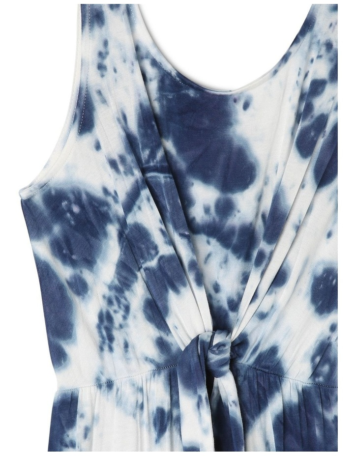 Tie Front Tie Dye Maxi Dress image 2