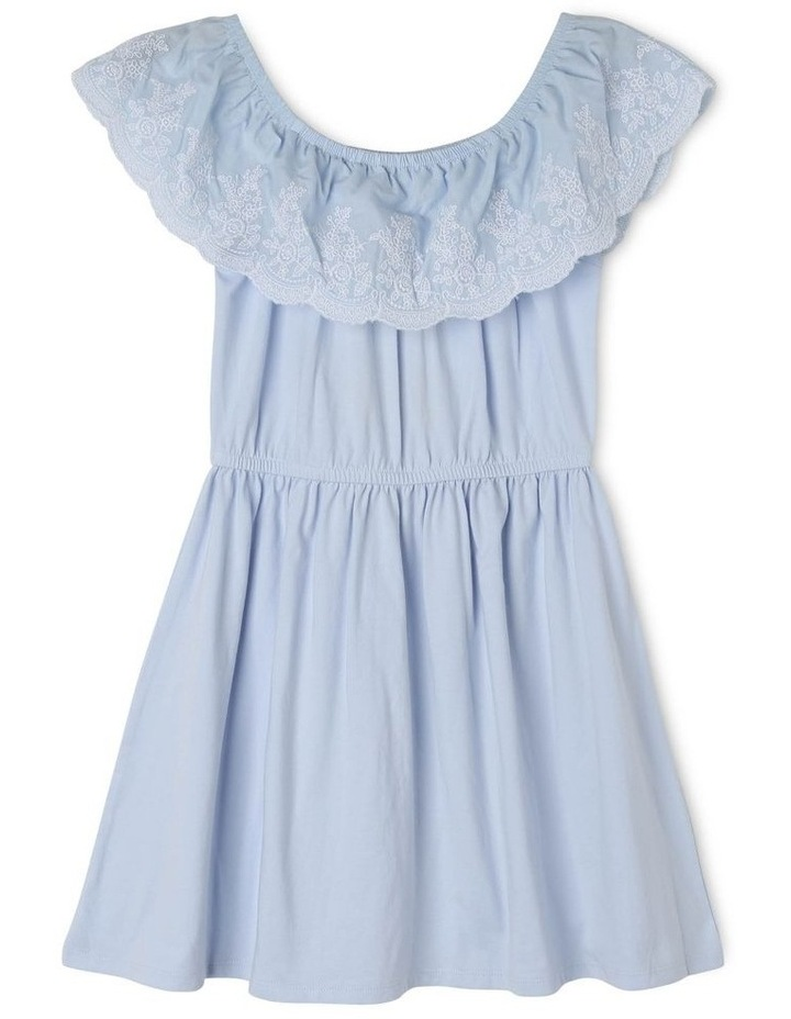 Jersey Dress With Frill image 1