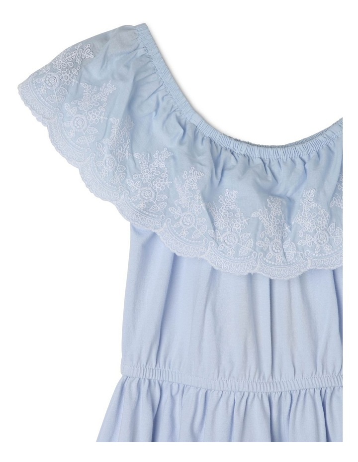 Jersey Dress With Frill image 2