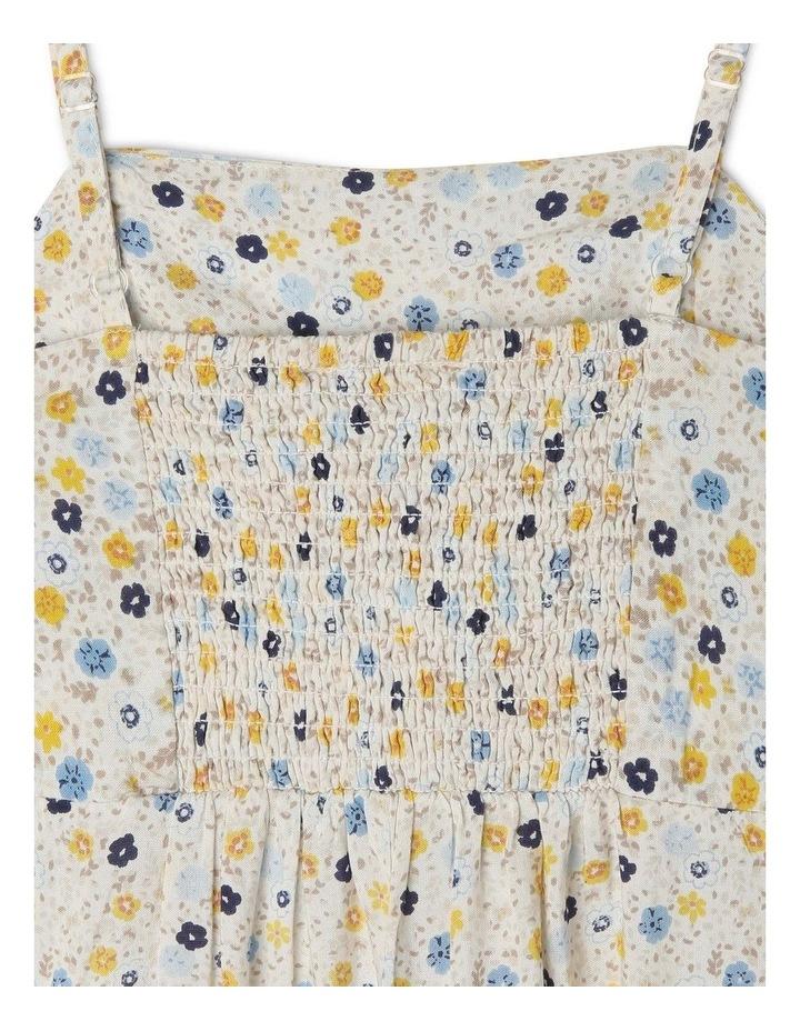 Cotton Jumpsuit With Tie Top image 3