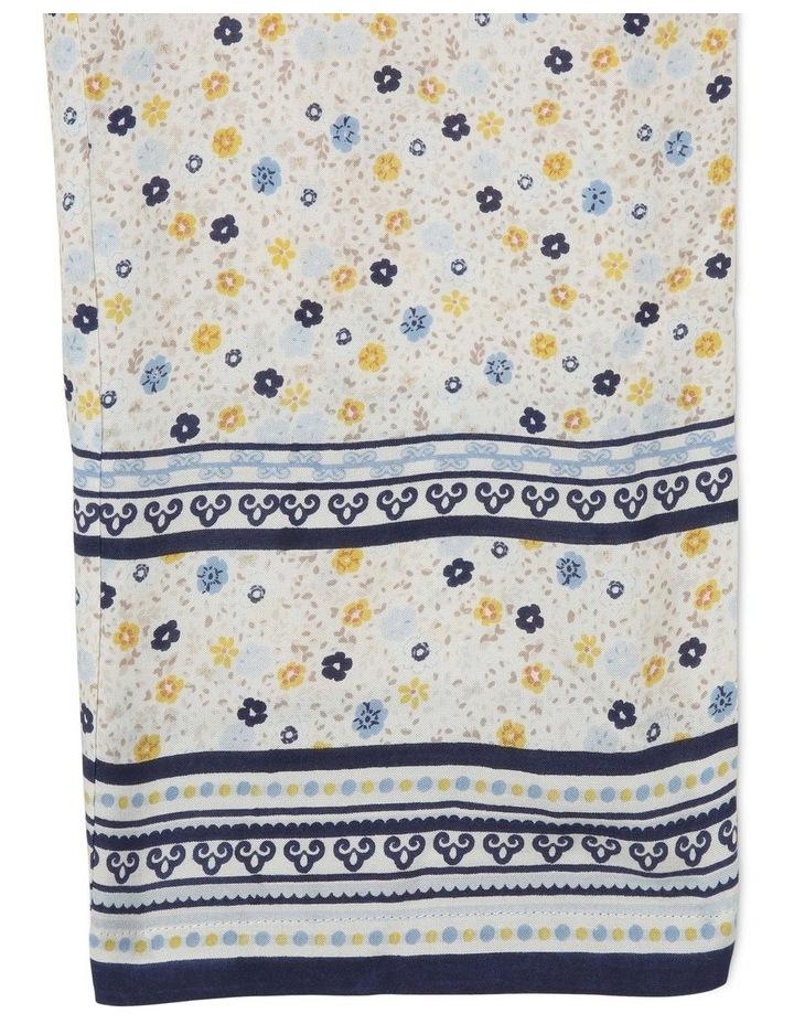 Cotton Jumpsuit With Tie Top image 4