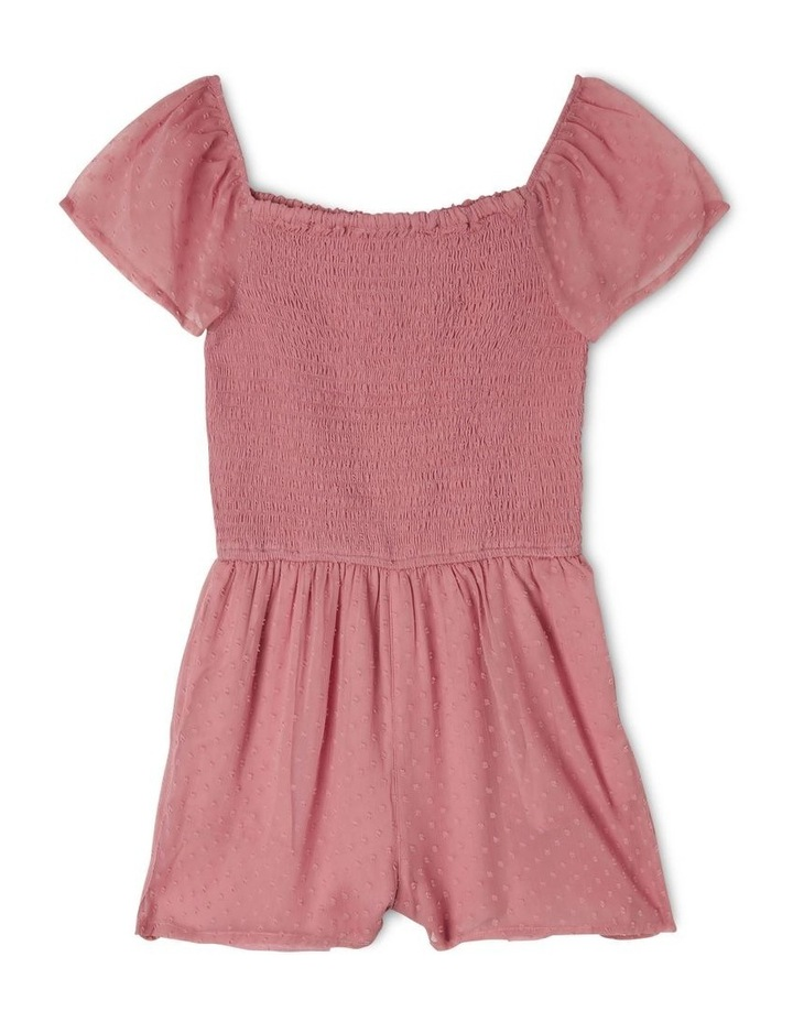 Woven Shirred Bodice Playsuit image 1
