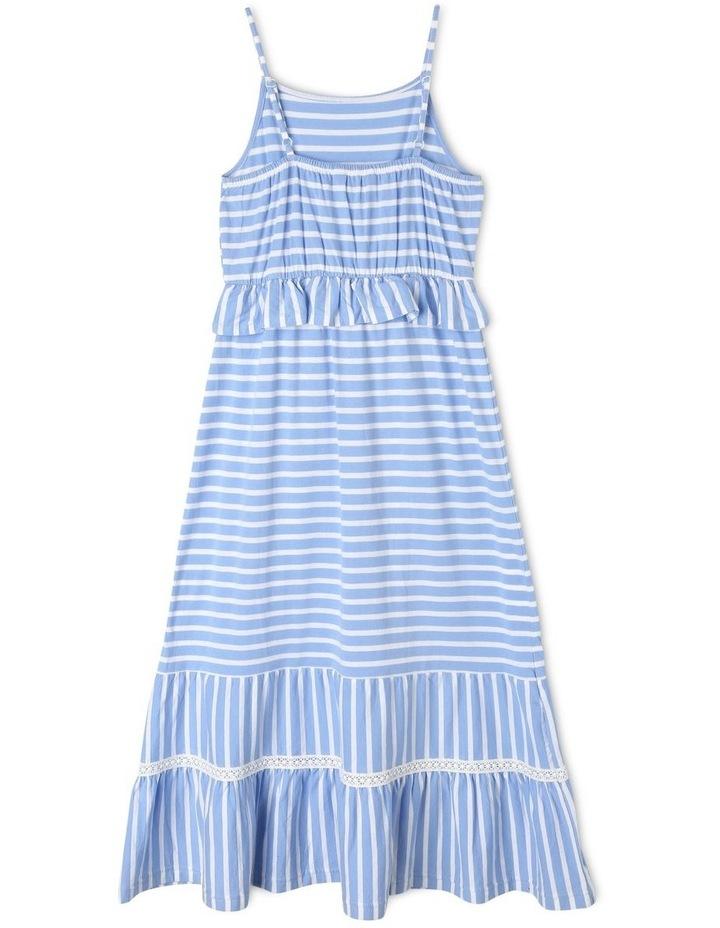 Knit Tiered Maxi Dress image 2