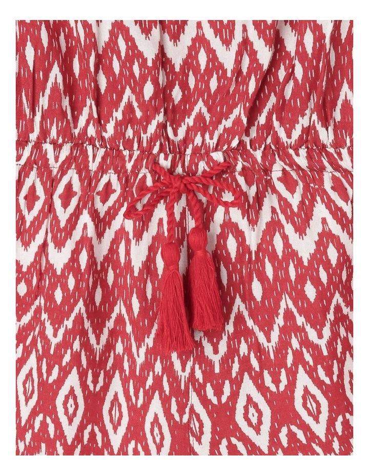 Viscose Playsuit With Tie Belt image 3