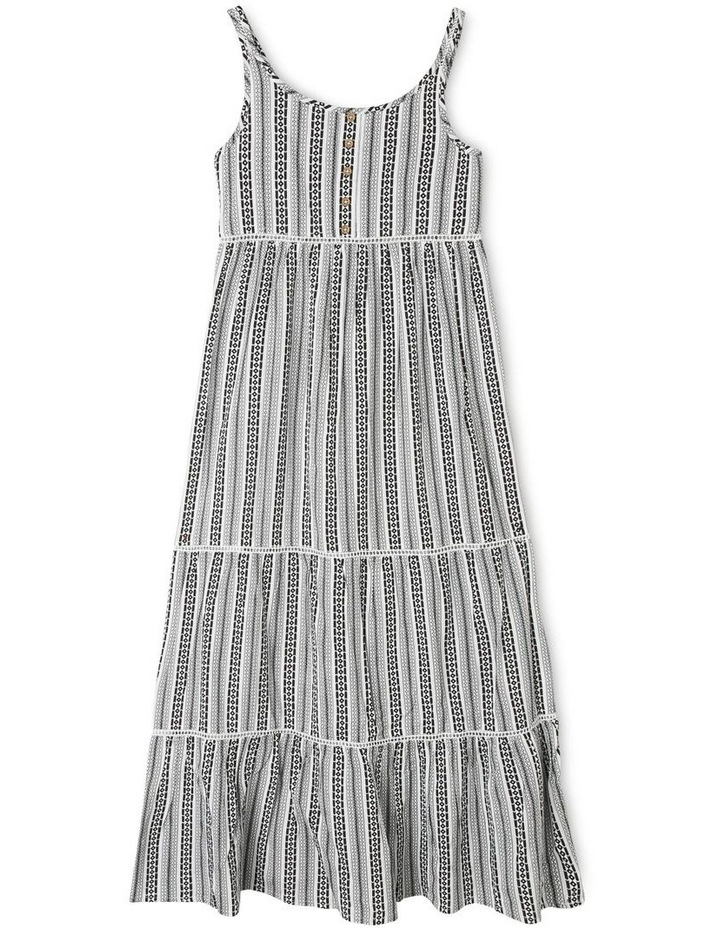 Woven Tiered Maxi Dress image 1