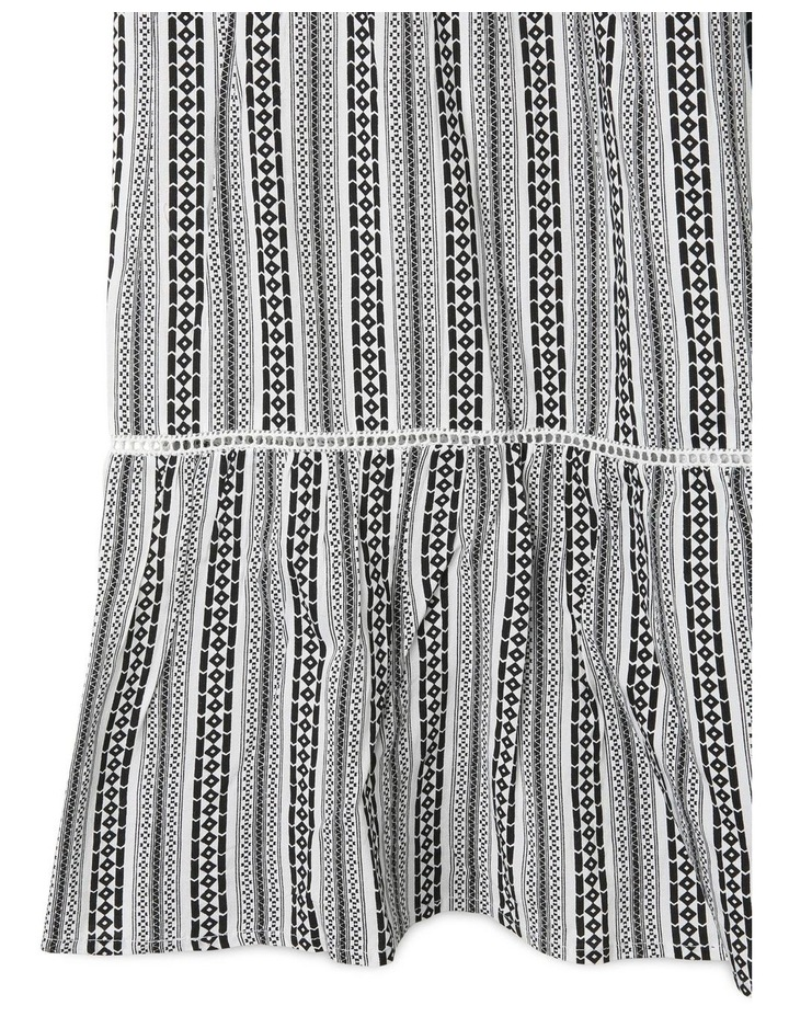 Woven Tiered Maxi Dress image 3
