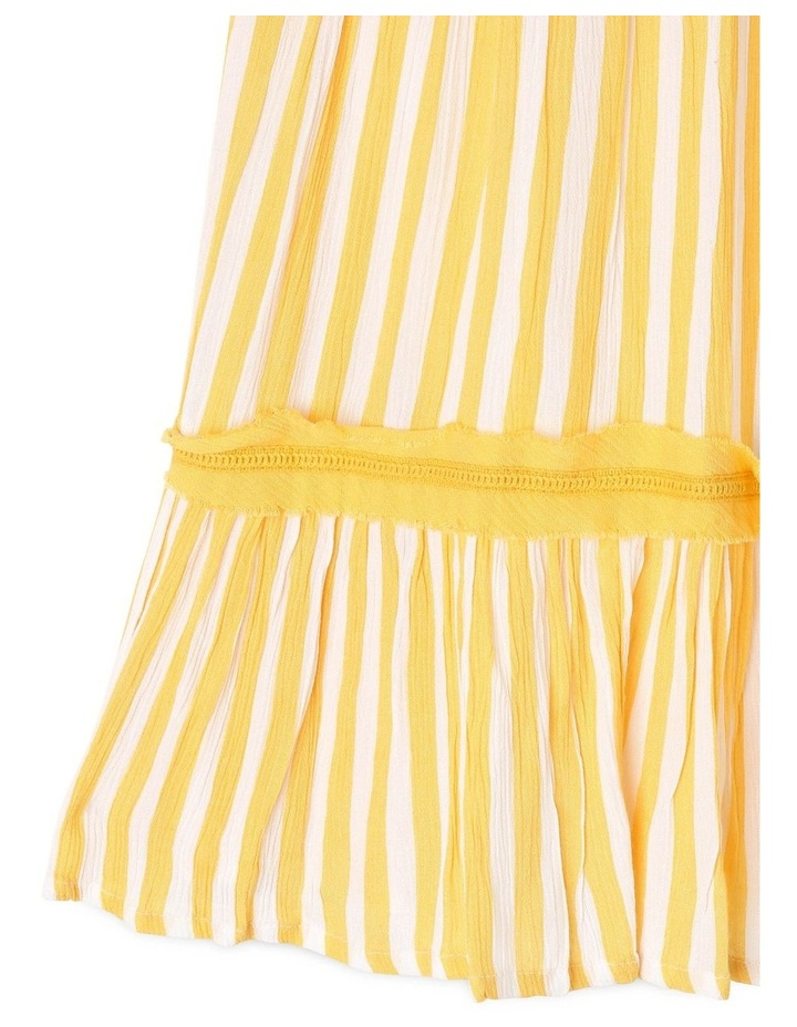 Woven Halter Neck Dress image 3