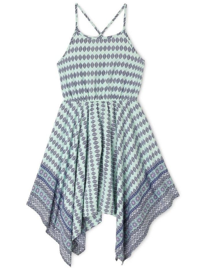 Woven Hanky Hem Dress image 1