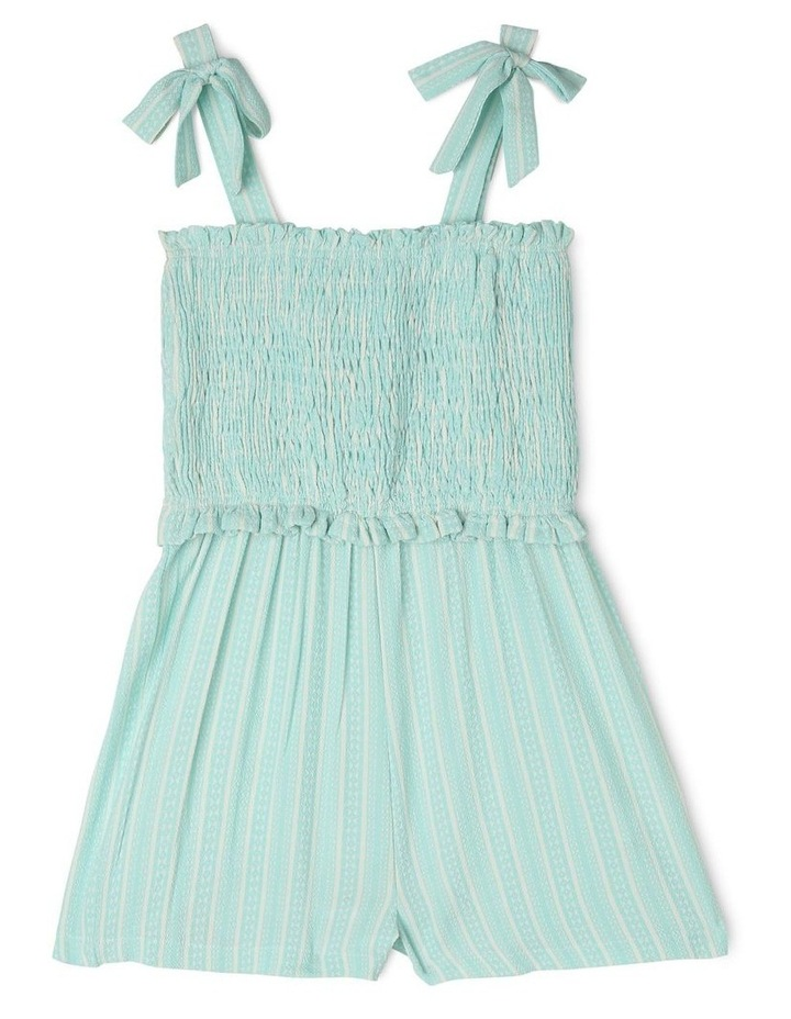 Woven Crepe Shirred Playsuit image 1