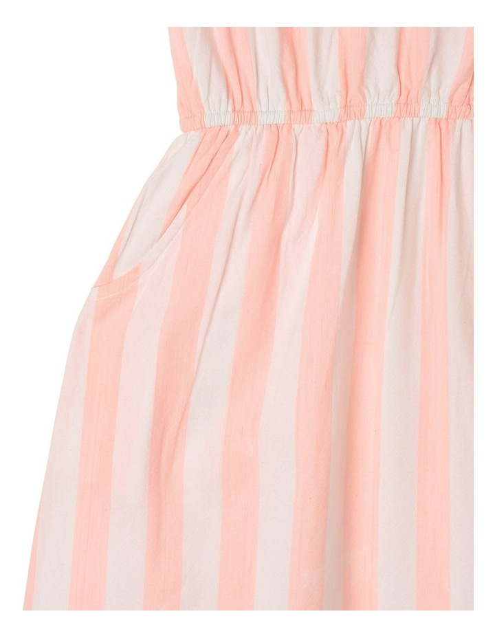 Woven Frill Neck Maxi Dress image 3