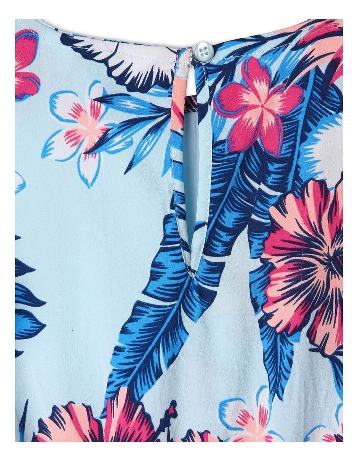 Woven Cold Shoulder Hi-Lo Dress image 3