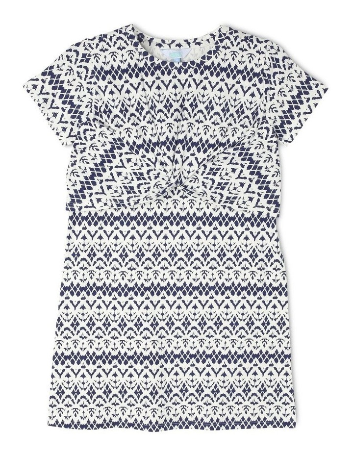 Knit Knot Front Dress image 1