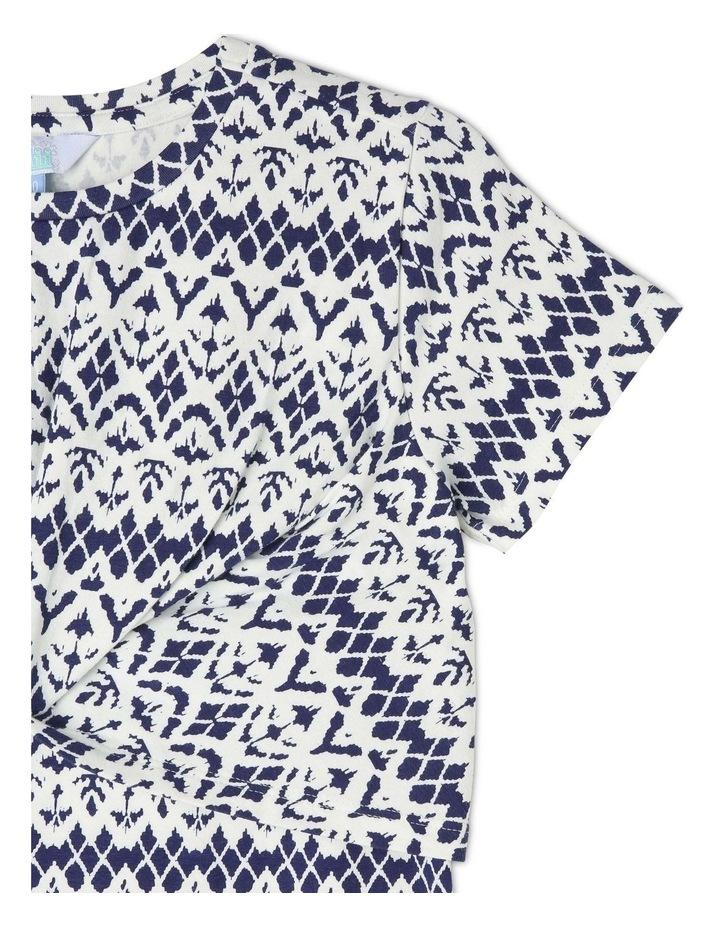 Knit Knot Front Dress image 3