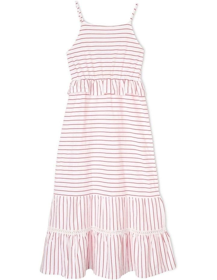 Knit Tiered Maxi Dress image 1