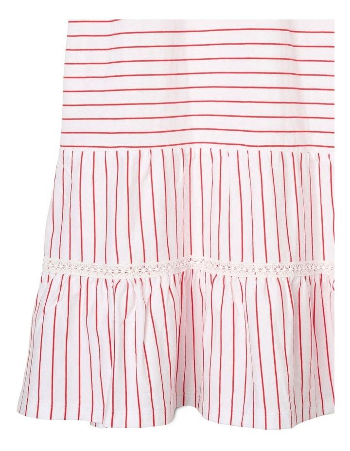 Knit Tiered Maxi Dress image 3