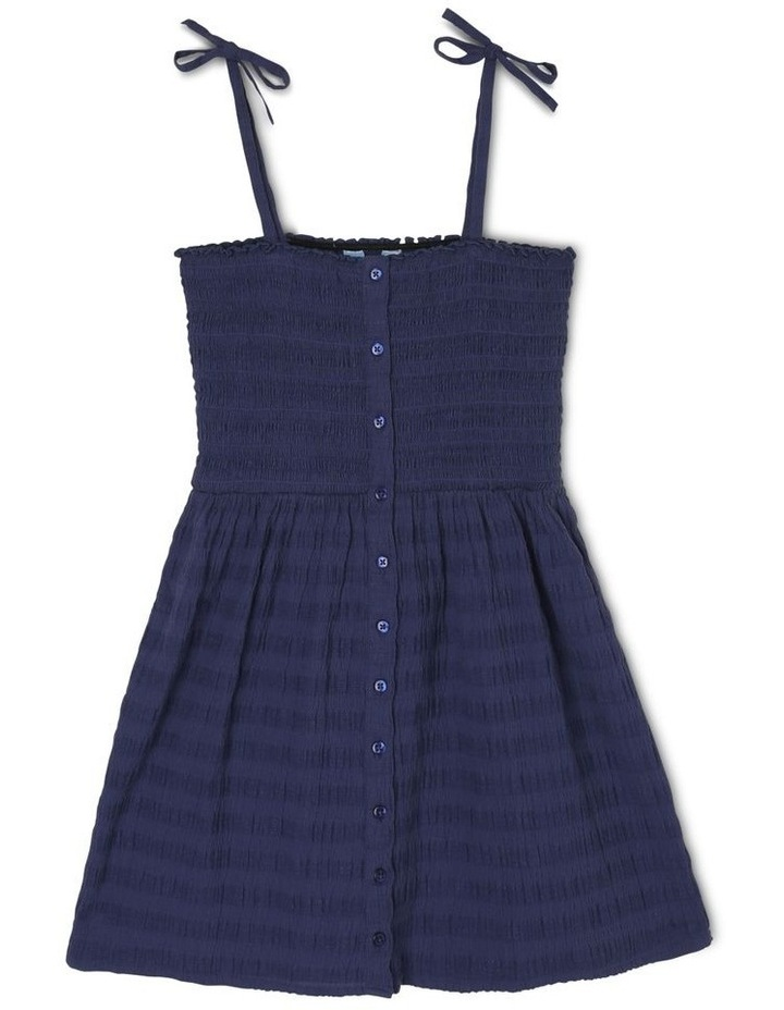 Woven Shirred Bodice Dress image 1