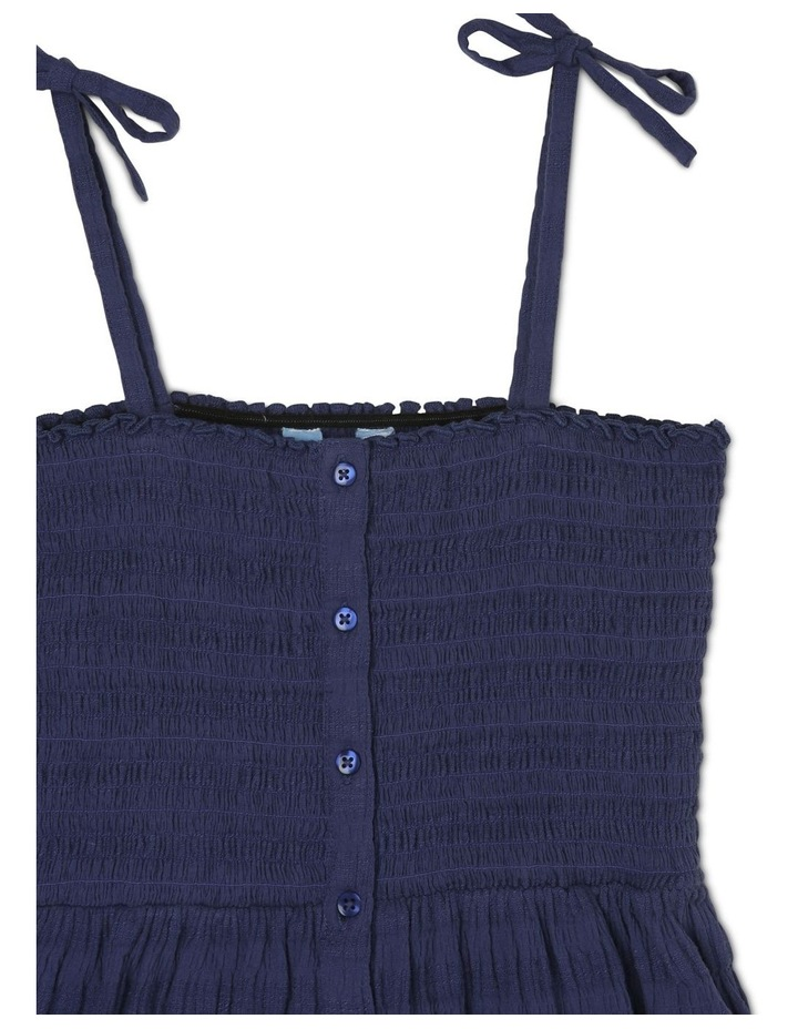 Woven Shirred Bodice Dress image 2