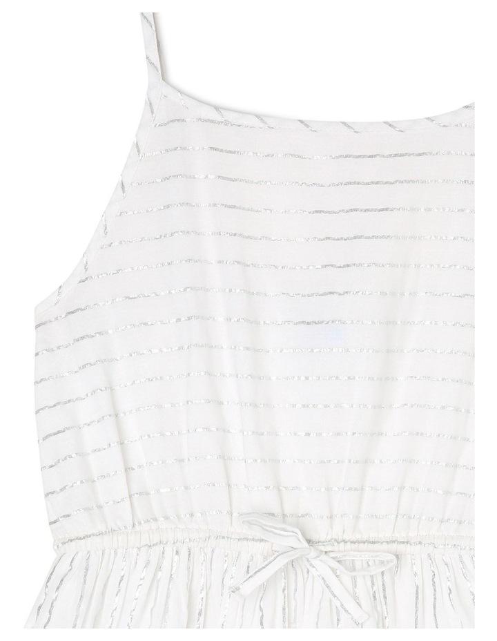 Woven Lurex Maxi Dress image 2