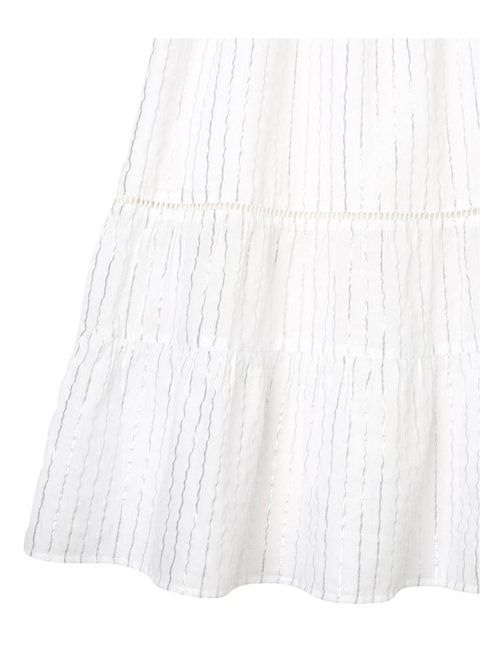 Woven Lurex Maxi Dress image 3