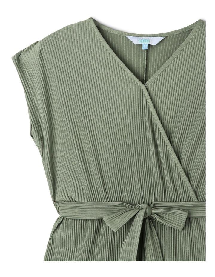 Knit Wrap Front Jumpsuit image 2