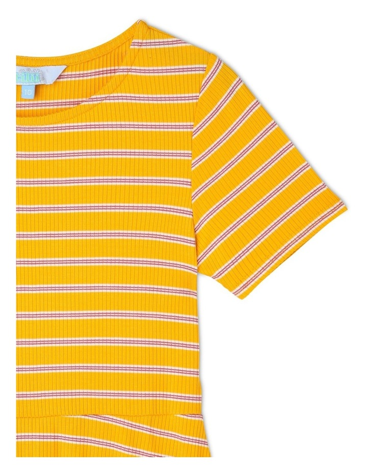 Rib Knit Skater Dress image 2