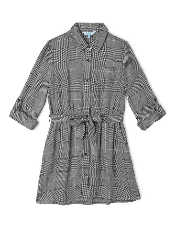 Check Shirt Dress image 1