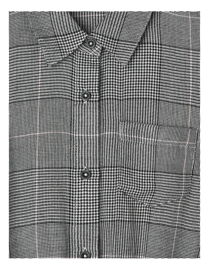 Check Shirt Dress image 2