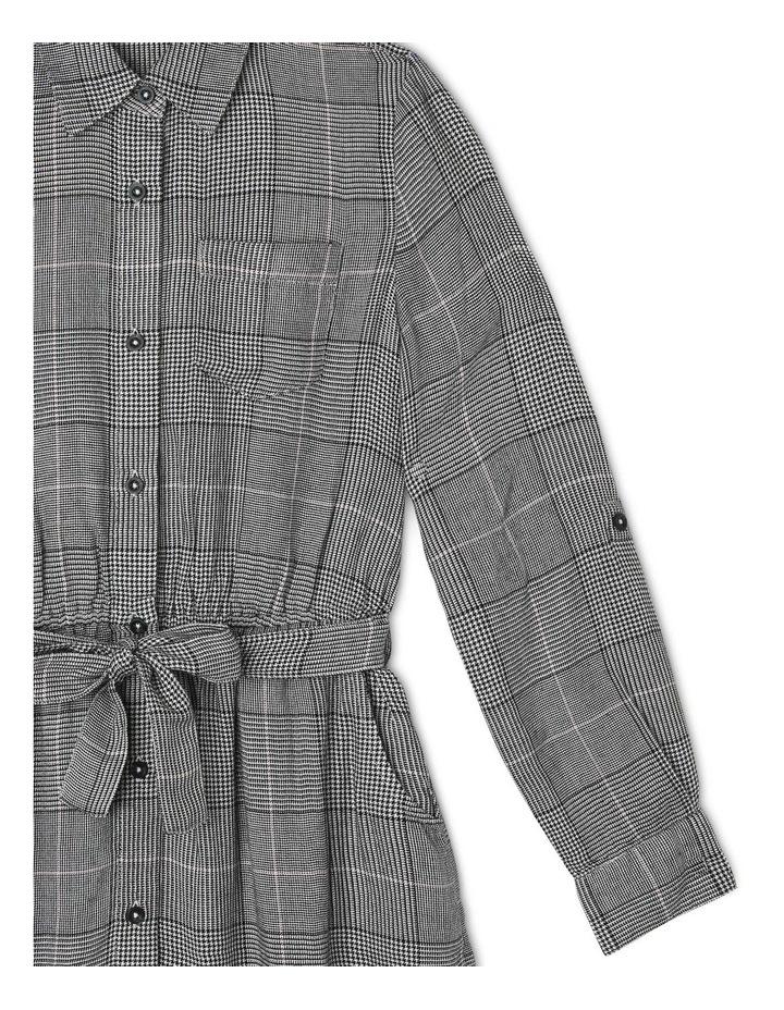 Check Shirt Dress image 5