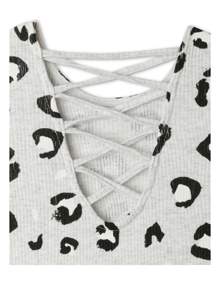 Rib Knit Skater Dress image 4