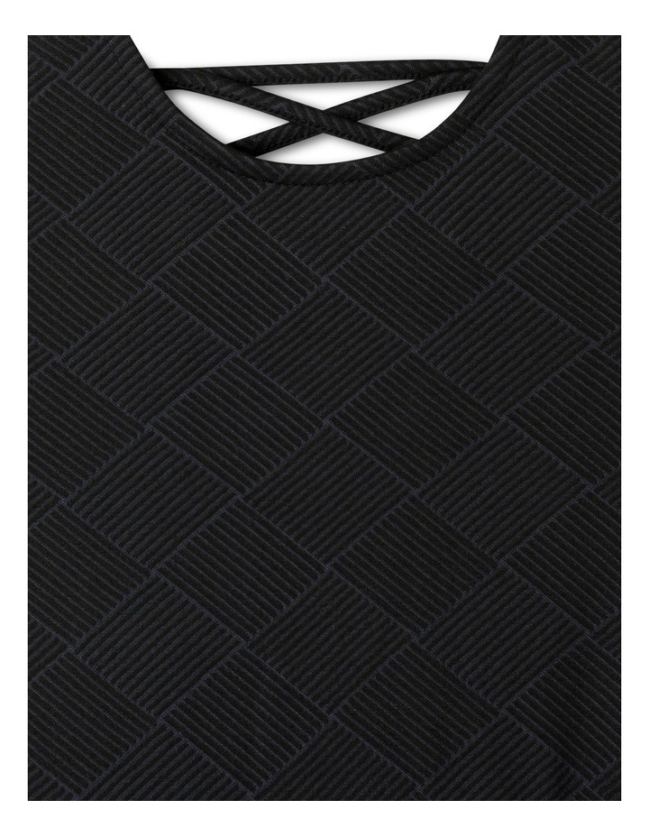 Double Knit Skater Dress image 2