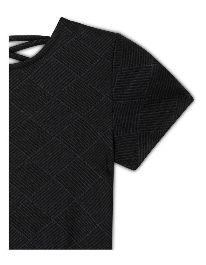 Double Knit Skater Dress image 3
