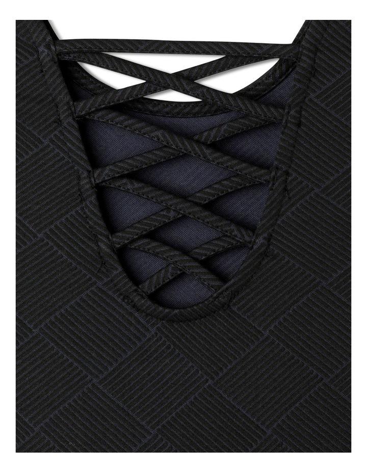 Double Knit Skater Dress image 6