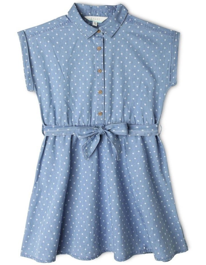 Chambray Belted Dress image 1