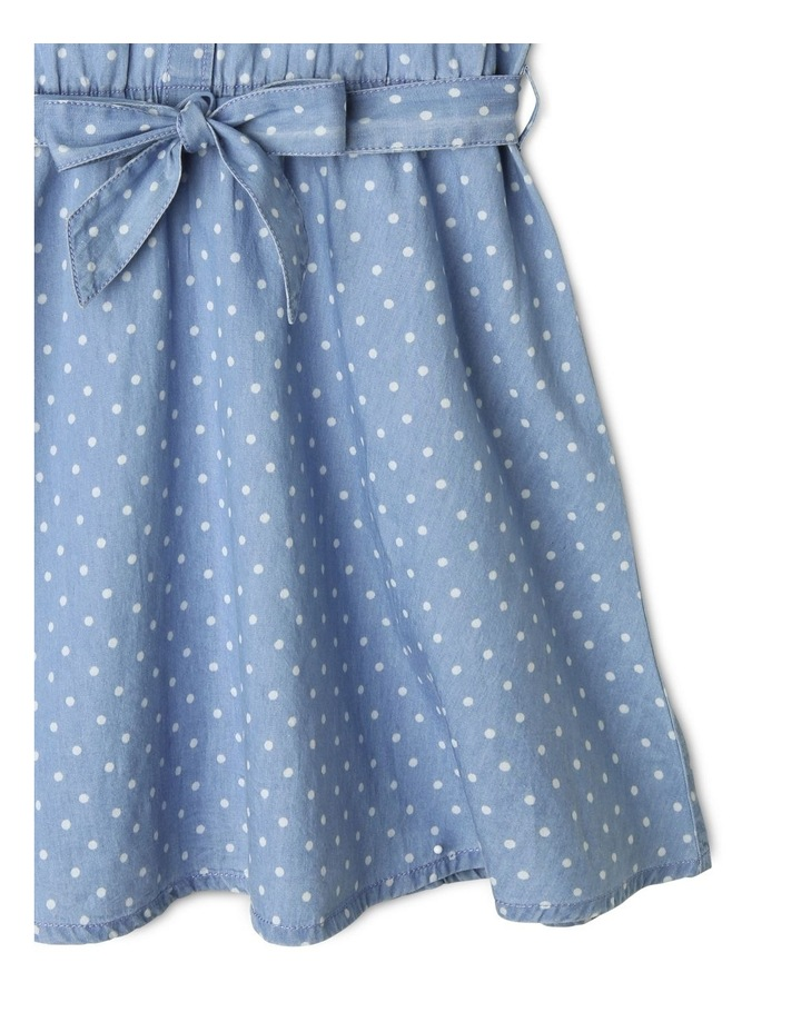 Chambray Belted Dress image 5