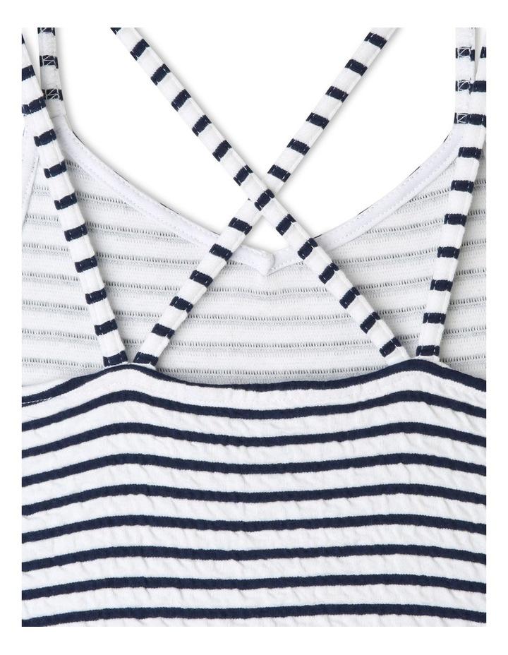 Striped Skater Dress image 4