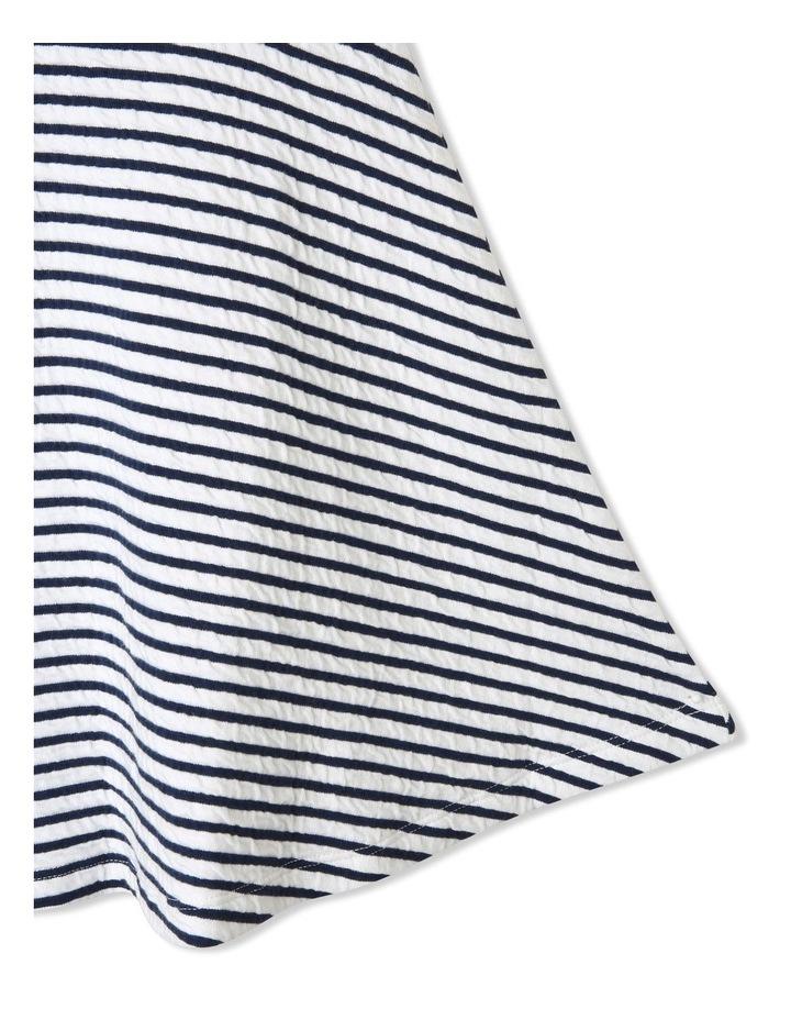 Striped Skater Dress image 5