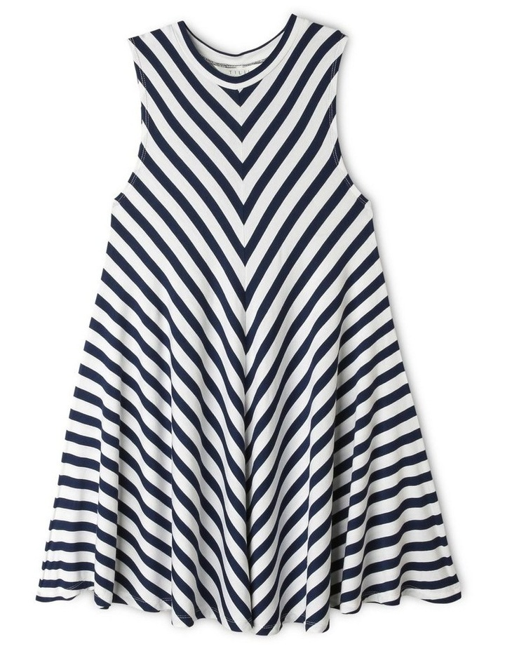 High-Neck Swing Dress image 1