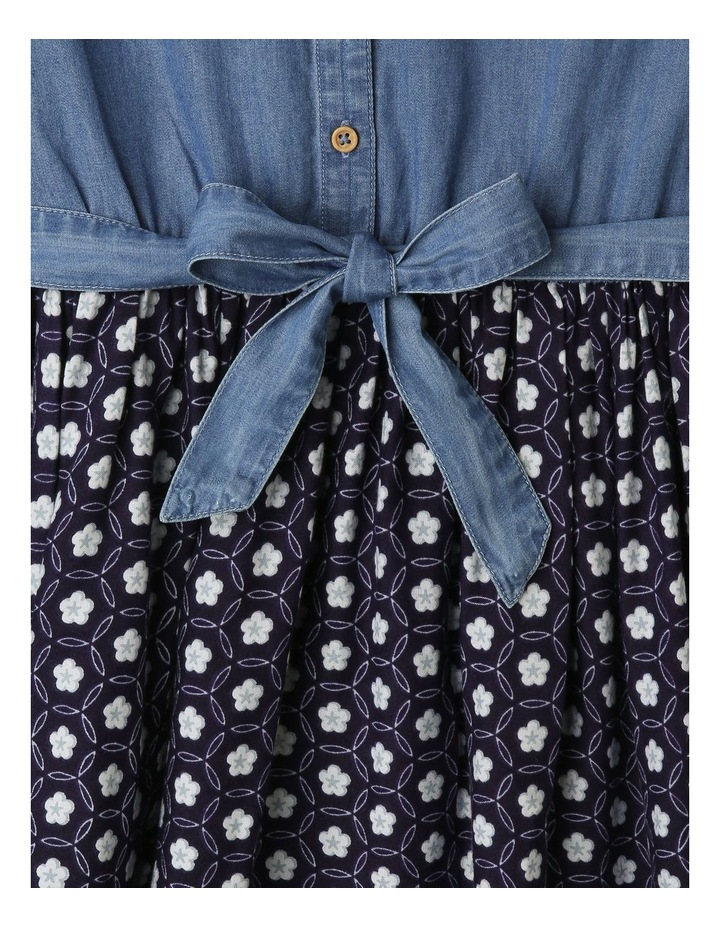 Chambray Shirt Dress image 2