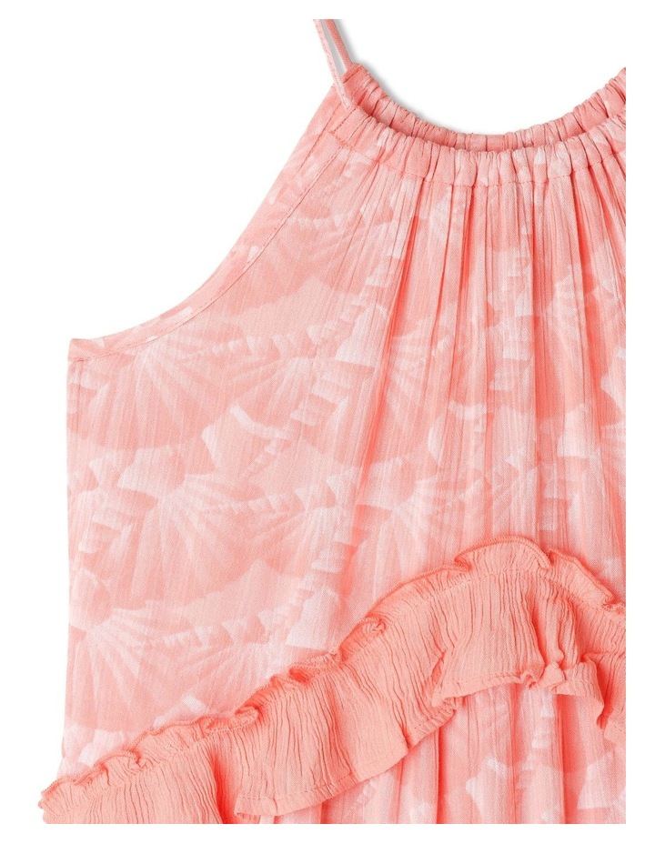 Woven Halter Neck Tiered Dress image 2