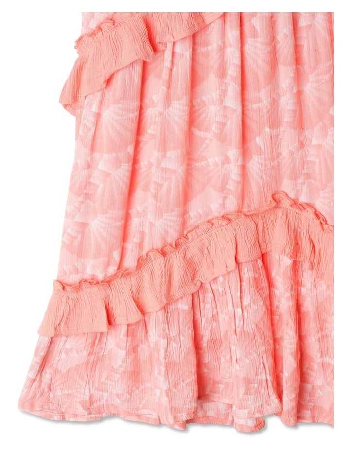 Woven Halter Neck Tiered Dress image 3