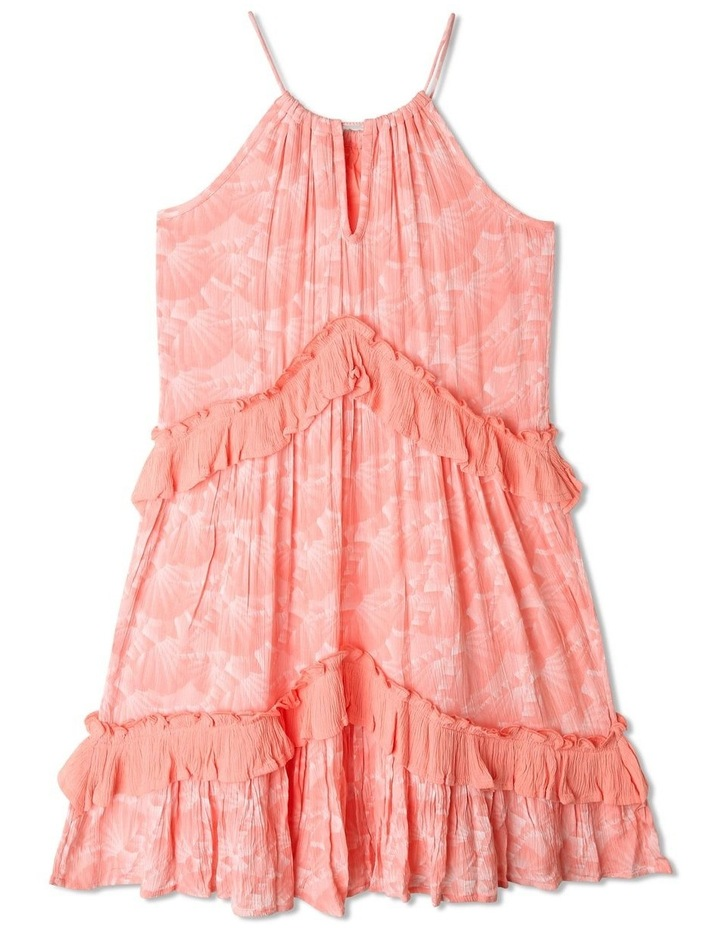 Woven Halter Neck Tiered Dress image 4