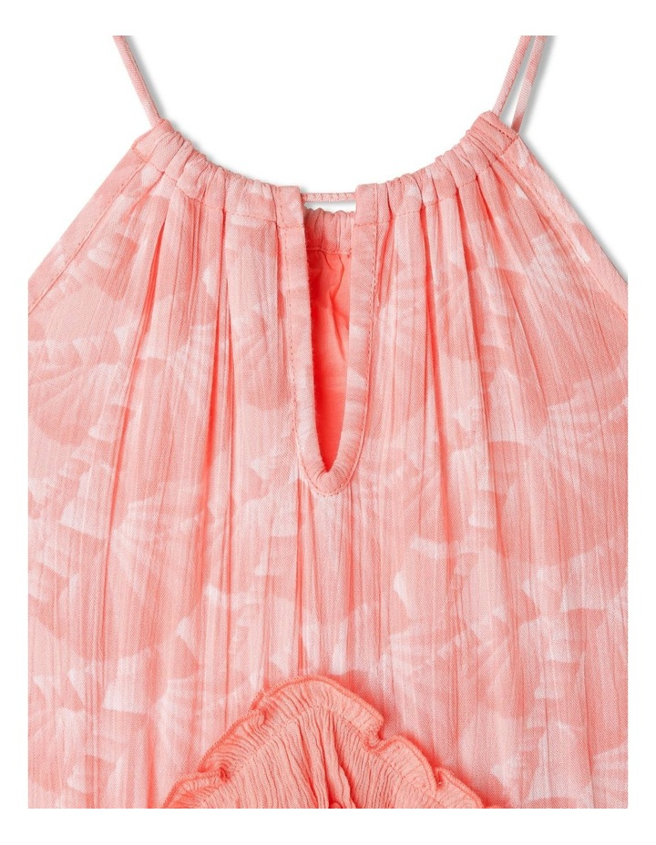 Woven Halter Neck Tiered Dress image 5