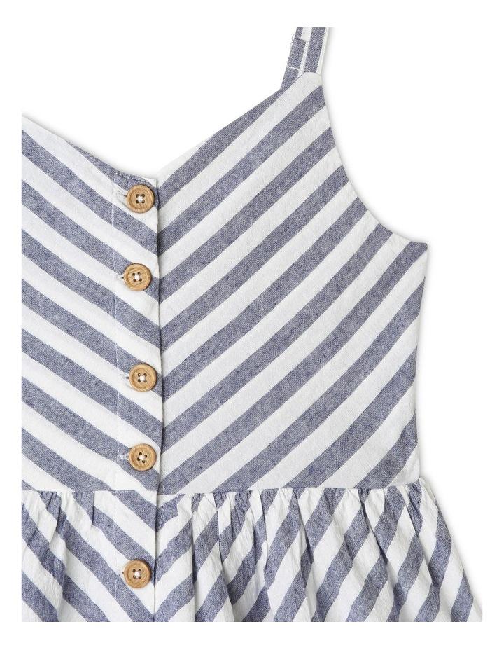 Linen Button Front Dress image 3